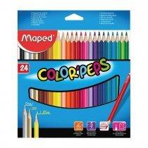 مداد رنگی 24 رنگ مپد مدل کالر پپس