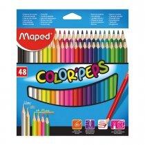 مدادرنگی 48 رنگ مقوایی - Maped