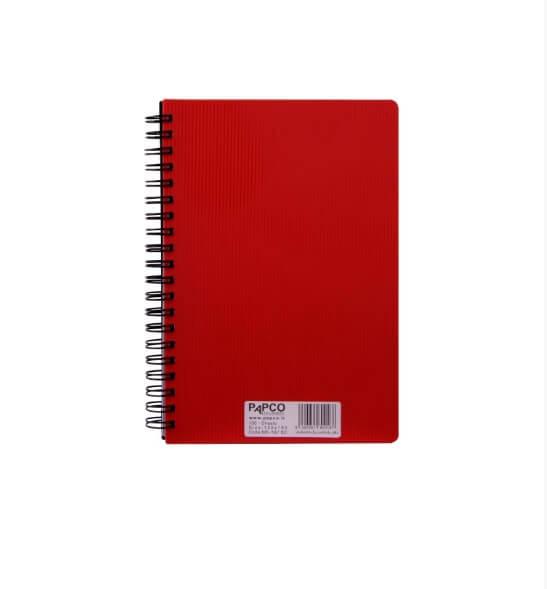 دفتر یادداشت یک خط متالیک 100 برگ